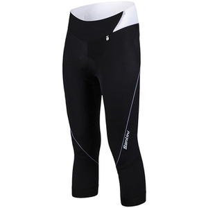 Santini Mearsey Women's 3/4 Bib Knickers - Black/White