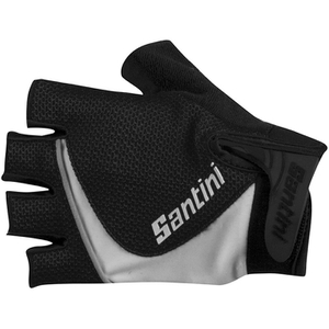 Santini Studio Gel Gloves - Black