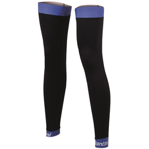 Santini BeHot Leg Warmers - Black/Blue
