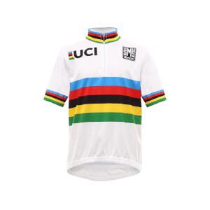 Santini UCI Kids  World Champion Jersey 2018 - White  f4a88aa3a