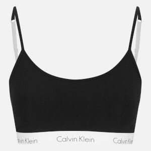 Calvin Klein Women's Ck One Logo Bralette - Black