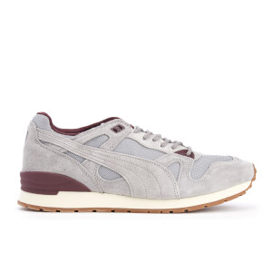 Puma Men's Duplex Winter Casual Trainers - Drizzle/Winetasting