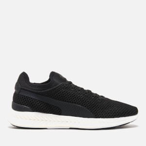 Puma Men's Ignite Sock Knit Running Trainers - Puma Black/Puma White