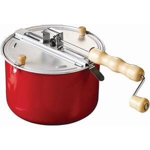 Casserole Spéciale Popcorn sur Cuisinière Eddingtons -Rouge