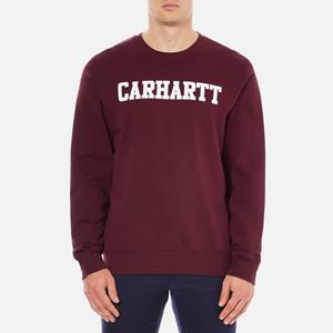 Carhartt Men's College Sweatshirt - Chianti/White