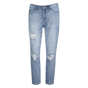 ONLY Women's Lima Boyfriend Denim Jeans - Blue