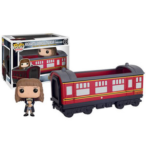Harry Potter Hogwarts Express Vehicle with Hermione Granger Funko Pop! Vinyl