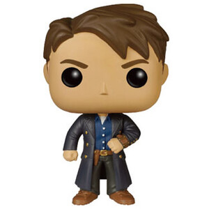 Doctor Who POP! Television Vinyl Figure Jack Harkness avec Vortex Manipulator Figurine Funko Pop!