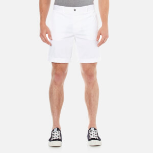 J.Lindeberg Men's Nathan ES Breeze Stretch Shorts - Off White