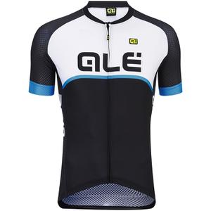 Alé Excel Veloce Jersey - Black/Light Blue