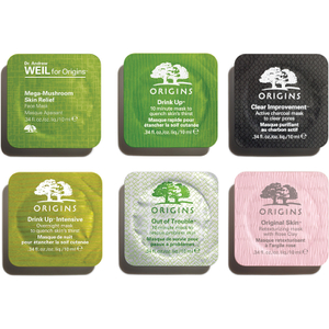 Origins Face Mask Pods Sample Pack (6 x 10ml)