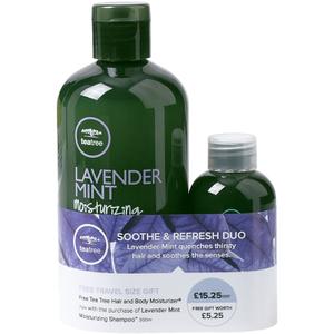 Paul Mitchell Lavender Mint Shampoo with Hair & Body Moisturiser