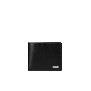 Calvin Klein Men's Rail Logo Slimfold Wallet - Black