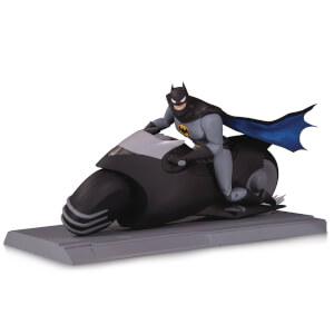 DC Collectibles Batman Animated Series Batcycle and Batman Action Figure Set