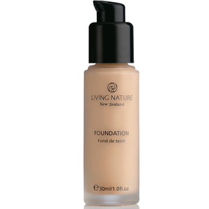 Living Nature Pure Foundation 30 ml – olika nyanser