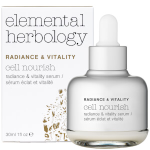 Sérum facial Cell Nourish de la colección Radiance & Vitality de Elemental Herbology