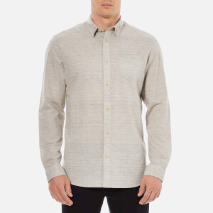 Selected Homme Men's Wowade Long Sleeve Shirt - Flint Grey