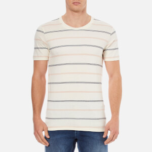 Selected Homme Men's Brook O-Neck T-Shirt - Mahogony Rose