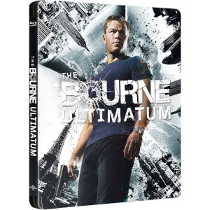 The Bourne Ultimatum - Zavvi UK Exclusive Limited Edition Steelbook (Limited to 1500 Copies)