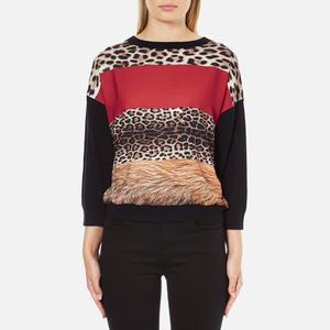 Boutique Moschino Women's Contrast Jumper - Multi