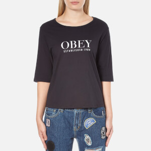 OBEY Clothing Women's Obey Vanity Top - Black