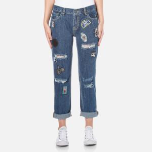 OBEY Clothing Women's The Nemesis Jeans - Washed Indigo