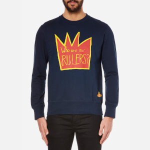 Vivienne Westwood MAN Men's Rulers Sweatshirt - Navy