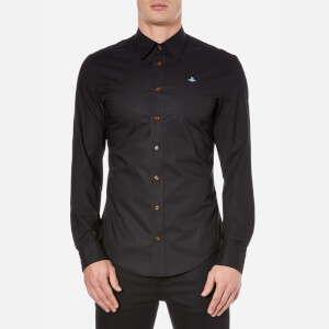 Vivienne Westwood MAN Men's Poplin Stretch Shirt - Black