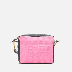 KENZO Women's Kombo Camera Bag - Pink/Bordeaux