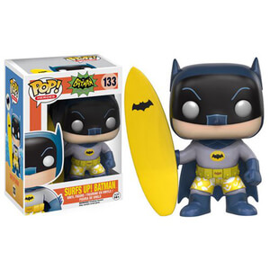 Batman Classic 1966 Surf's Up Batman Funko Pop! Vinyl Figur