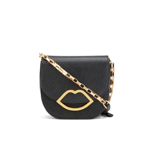 Lulu Guinness Women's Amy Small Crossbody Bag - Black