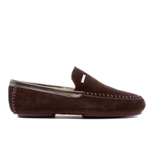 Ted Baker Men's Moriss Suede Moccasin Slippers - Brown