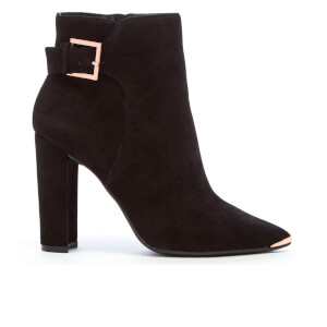 Ted Baker Women's Maryne Suede Heeled Ankle Boots - Black