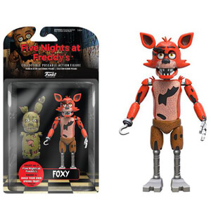 Five Nights At Freddy's Foxy 5 Inch Action Figura