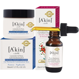 A'kin 24 Hour Radiance Collection (Worth £42.00)