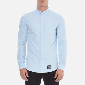 Superdry Men's Ultimate Oxford Long Sleeve Shirt - Sky