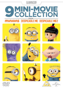 9 Mini-Movie Collection (From Minions, Despicable Me 1 & 2)