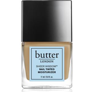 Hidratante para Uñas con Color Sheer Wisdomde butter LONDON 11 ml - Medio
