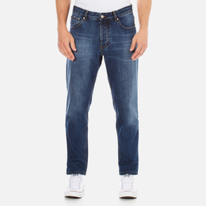 AMI Men's Carrot Fit Jeans - Blue