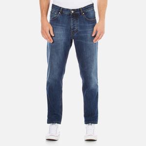 AMI Men's Carrot Fit Jeans - Blue