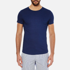 Orlebar Brown Men's Crewneck T-Shirt - Denim Pigment