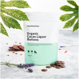 Organic Cacao Liquor Buttons - 300g