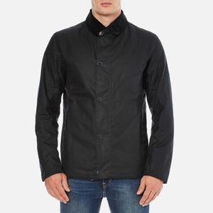 Barbour X Steve McQueen Men's Sandford Wax Jacket - Navy
