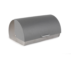 Salter Marble Collection Grey Classic Bread Bin