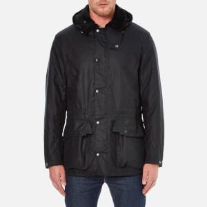 Barbour Heritage Men's Beatock Wax Jacket - Navy