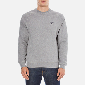 Barbour Heritage Men's Standards Sweatshirt - Grey Marl