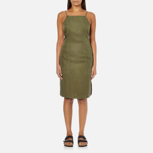 Superdry Women's Tencel Racer Dress - Washed Khaki