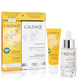 Caudalie Vinoperfect Serum and Suncare SPF 50 Duo (Worth £66.00)