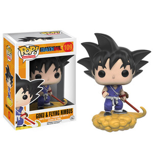 Dragon Ball Z Goku and Nimbus Pop! Vinyl Figure