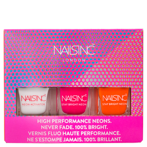 nails inc. Neon Mini Trio Collection 3 x 5ml